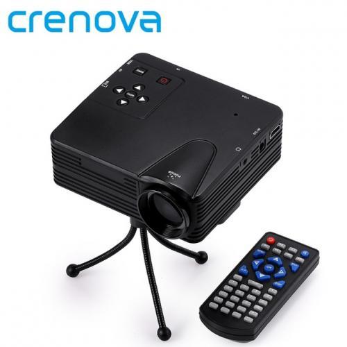 Projecteur 640x480 Pixels 800 Lumens Full HD Projecteur Home Cinéma 1080 P Projection Mini LED Vidéo Proyector