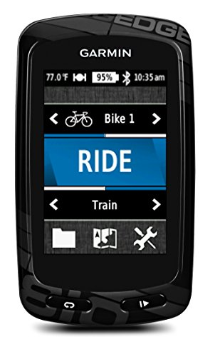 "Garmin Edge 810 CAD+HR GPS Sports 2,6"" (6,60 cm) USB Noir"