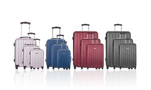 Set de trois valises KORBA de la marque TRAVEL ONE, coloris au choix à 99,90€, livraison offerte