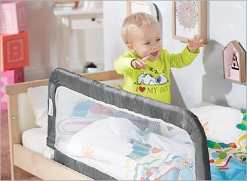 Barrière de lit amovible