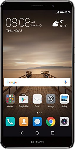 Huawei Mate 9 Smartphone débloqué 4G (Ecran: 5,9 pouces - 64 Go - Nano-SIM - Android) Gris