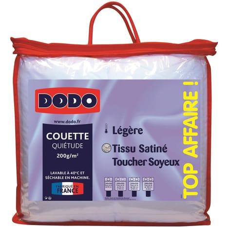 DODO Couette légère polyester effet satiné DODO