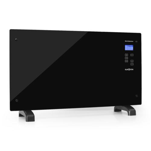 LUXE CHAUFFAGE ELECTRIQUE KLARSTEIN HT007GL RADIATEUR CONVECTEUR 2000W VERRE LCD