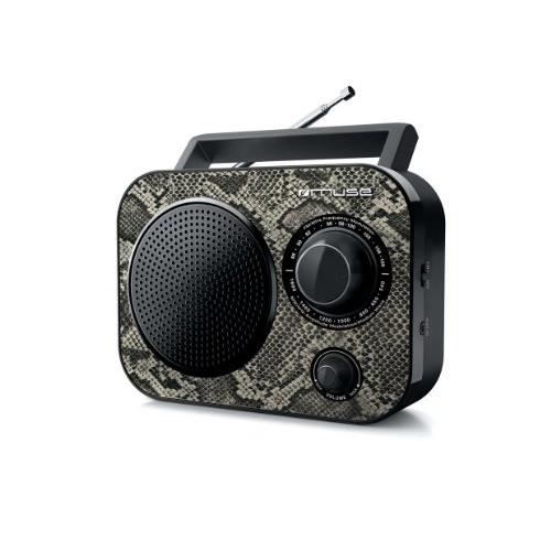 MUSE M-060 P Radio portable AM/FM - Motif Python