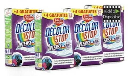 144 Lingettes Décolor Stop Intense