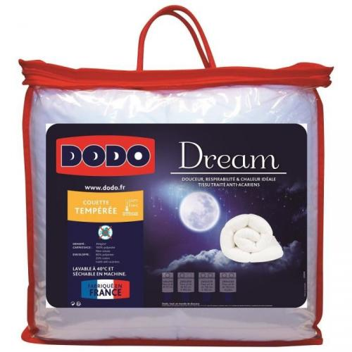 DODO Couette DREAM 140x200cm Anti-Acariens 350g