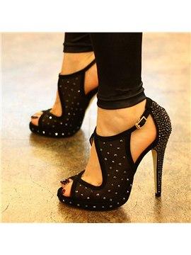 sandales a haut talons