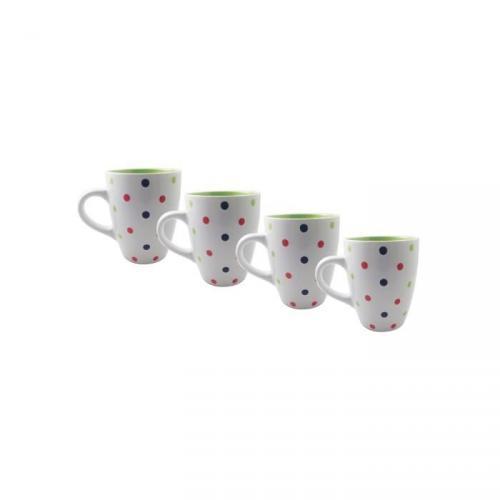 FINLANDEK Lot de 4 mugs Timjami 32 cl vert
