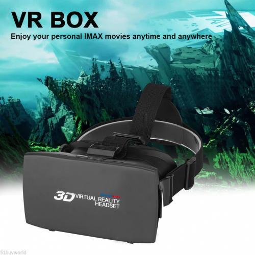 Lunettes Casque Réalité Virtuelle 3D