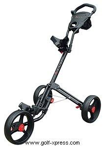 Masters Two Icart Chariot de golf électrique, 3 roues 2 clics Noir