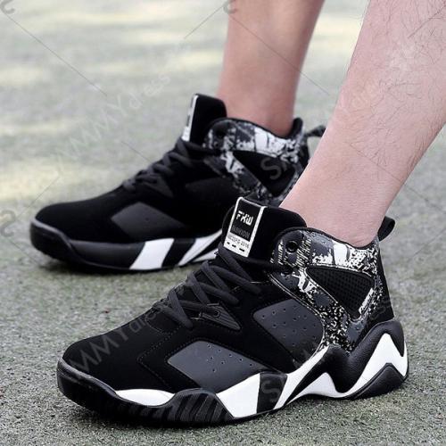 Respirant Couleur bloc Chaussures