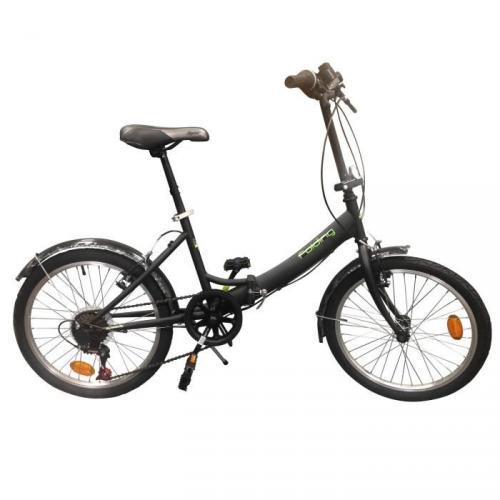 """Vélo Pliant Folding Acier 20"""" Mixte adulte- 6 vitesses"""