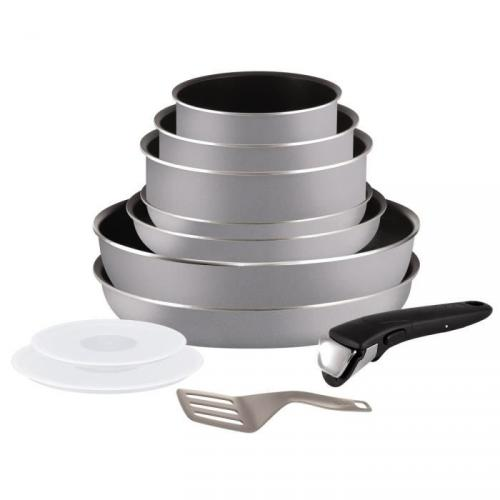 TEFAL INGENIO Set essential scottish 11 pièces L2149202 16-18-20-22-24-26cm tous feux sauf induction