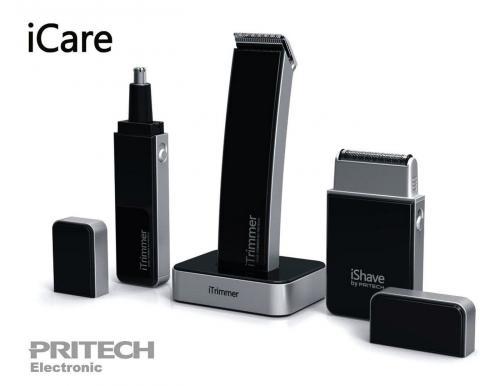 Pritech - iCare - coffret de rasage pour homme 3 en 1