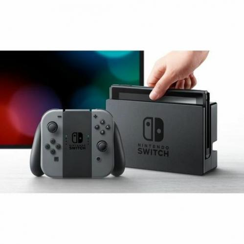 Console Nintendo Switch   Paire Joy-Con gris
