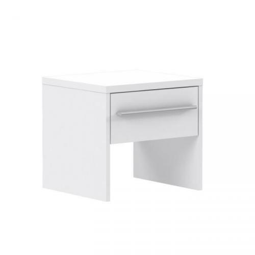 FINLANDEK Chevet PEHMEA contemporain blanc - L 38,5 cm