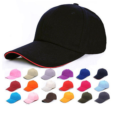 2016 Men Women New Black Baseball Cap Snapback Hat Hip-Hop Adjustable Bboy Caps