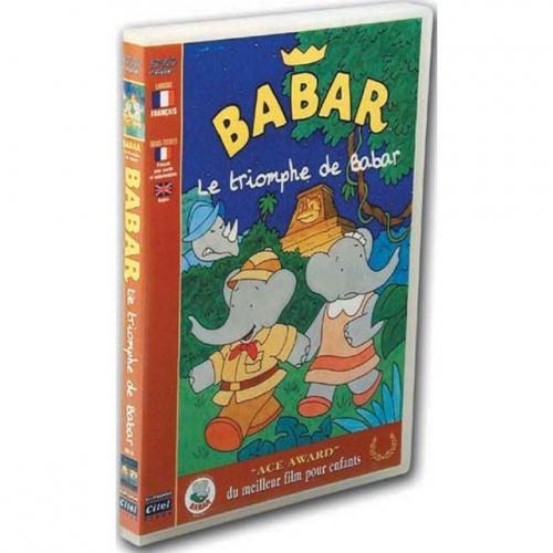 DVD Le triomphe de Babar