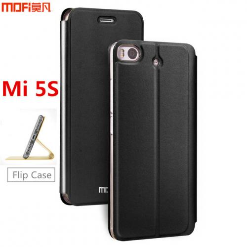 Xiaomi Mi5s case MOFi original xiaomi 5s case flip cover leather holder silicone Mi 5s gold gitter luxury capa coque funda 5.15
