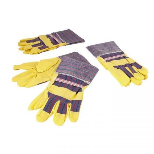 COGEX Lot de 3 paires de gants pvc vert