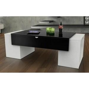 LUCKY Table basse 123 cm -
