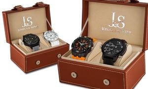 Coffret 2 montres Sport de la marque Joshua and Sons