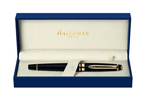 Waterman Expert S0951660 Stylo plume taille moyenne Noir
