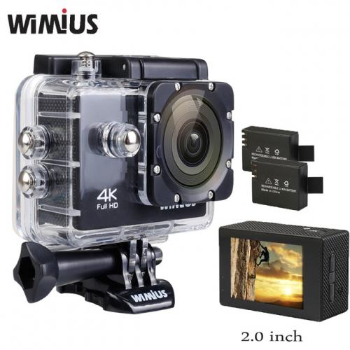 Wimius D'action Caméra 4 K Full HD 1080 P