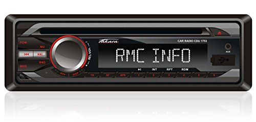 Takara CDU1753 Autoradio CD MP3 Noir