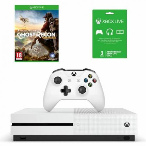 Xbox One S 500 Go   Ghost Recon
