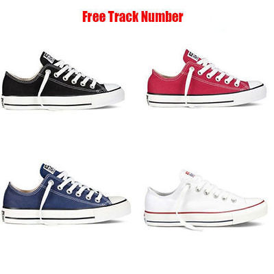 Women Lady ALL STARs Chuck Taylor Ox Low High Top shoes casual Canvas Sneakers