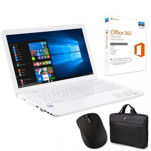 """PC ASUS 15.6"""" - 4Go RAM - Windows 10"""