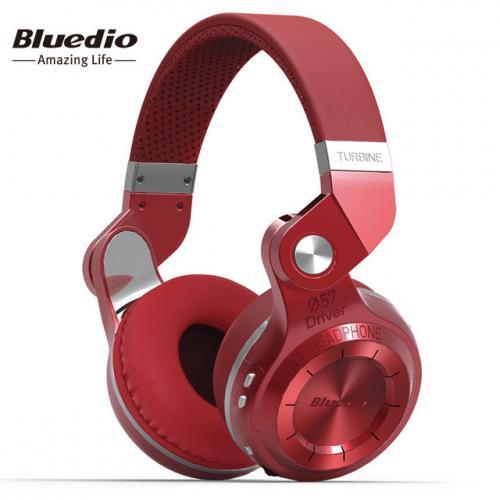 Bluedio T2S (Break de chasse) Bluetooth stéréo casque sans fil casque