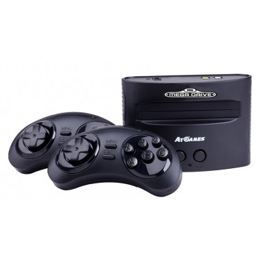 CONSOLE RÉTRO GAMING AT GAMES MEGADRIVE 2016 80 JEUX