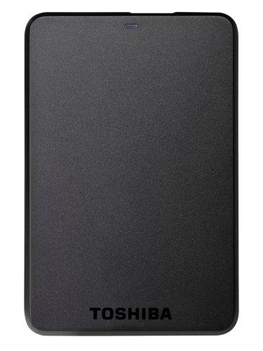 Toshiba Stor.E Basics Disque dur externe portable 1 To USB 3.0 / USB 2.0 Noir