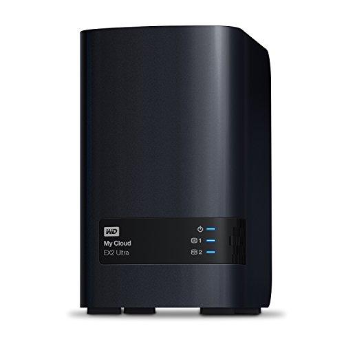 WD My Cloud EX2 Ultra Boîtier NAS Série Expert sans Disque - 2 Baies - WDBVBZ0000NCH-EESN