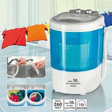 Mini-Lave Linge avec Essorage EasyMaxx®
