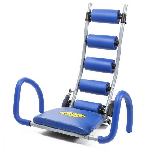 Appareil Abdos - bleu et gris AB ROCKET Fitness