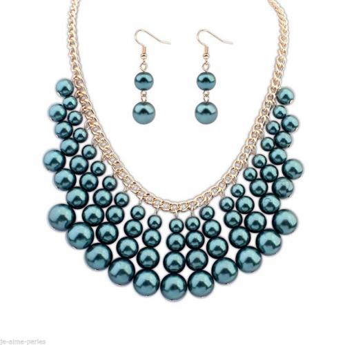 :) Boucles d'Oreilles Perles Fantaisie :)