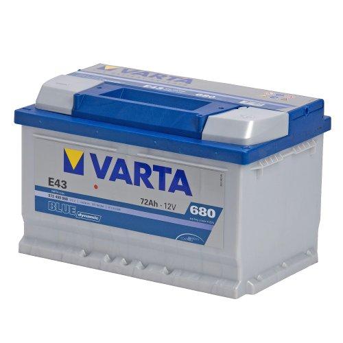 Batterie auto E43 12V 72ah/680A VARTA Blue dynamic