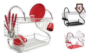 Égouttoir vaisselle multifonctions, coloris au choix