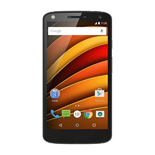 Motorola Moto X Force Smartphone (32GB) avec dos Ballistic Nylon Noir