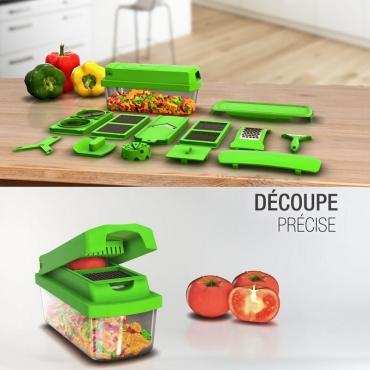 D coupe l gumes et fruits express amazing slicer prix for Decoupe fruit decoration