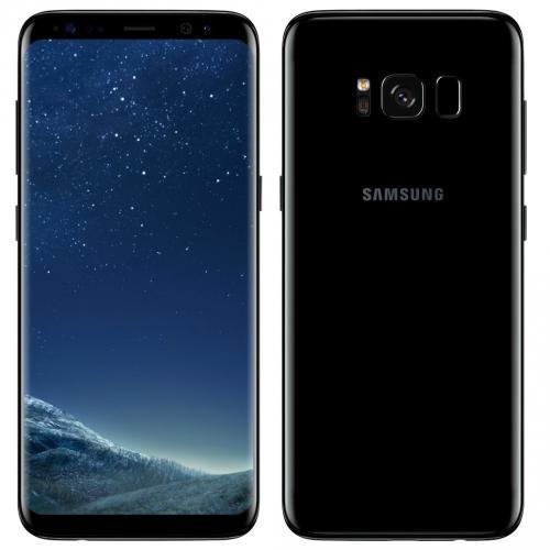 Samsung Galaxy S8 G950FD Duos 4G LTE 64GB Midnight Black Nouveau