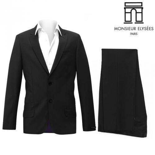Costume Homme Laine Mélangée Monsieur Elysées® Paris