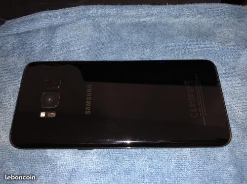 S8 je vend un Galaxy S8 64 gigas débloqué tout opérateur,en très bon état proche du neuf,juste le verre trempé un peu abîmé mais rien de méchant ,3 coques arrières , boite complète (écouteur intra-auriculaire d'origine,chargeur   f