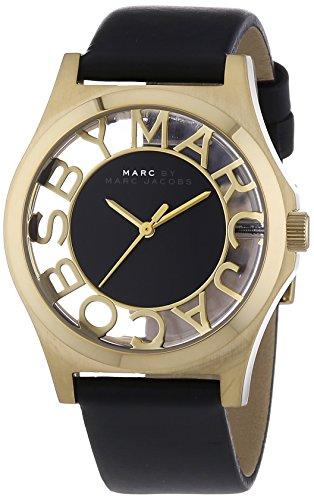 Marc Jacobs - MBM1246 - Montre Femme - Quartz Analogique - Bracelet Cuir Noir