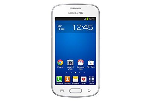 Samsung Galaxy Trend Lite Smartphone débloqué 3G  (Ecran : 4 pouces - 4 Go - Android 4.1 JellyBean) Blanc