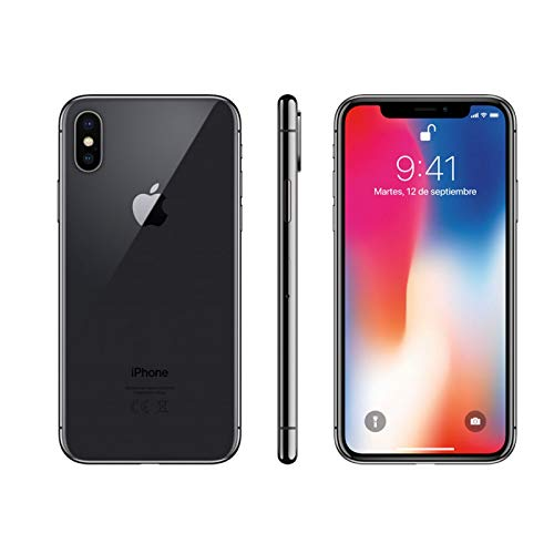Apple iPhone X 64 Go Gris Sidéral (Reconditionné)