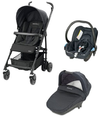 Bébé Confort Poussette Combinée Trio Maia Collection 2014 Total Black